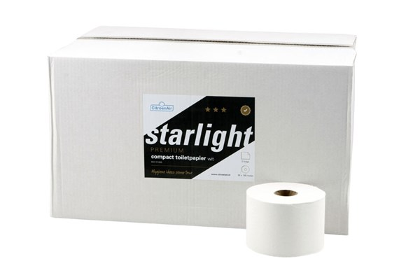 STARLIGHT,313641 compact toiletrollen 36x100m - 2 laags