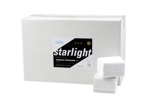 STARLIGHT,028701 Toilet Paper Single Sheet 40x225 sheets