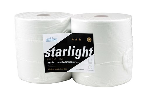 CitroenAir 173030,STARLIGHT jumbo toiletrollen 6x350m