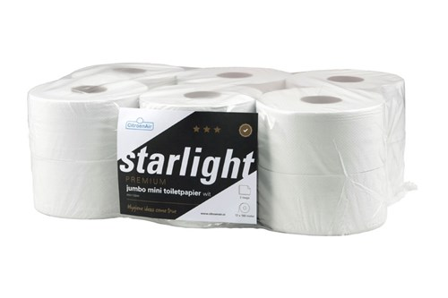 STARLIGHT,306451 Mini Jumbo Toilet Roll 12x180m