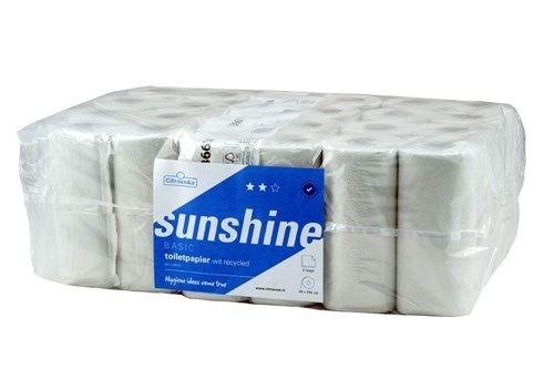 SUNSHINE 062451 toiletrollen 48x200 vel - 2 laags
