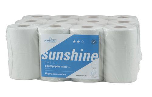 SUNSHINE,172153 mini poetsrollen met scheurhuls 12x120m