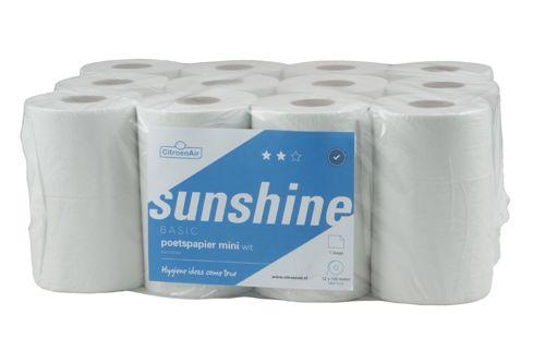 SUNSHINE,305841 Mini Handtuchrollen mit Hülse 12x120m
