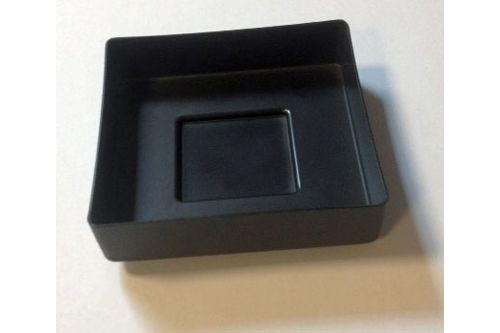 Qbic QTBH SSL SCHAAL opvangbakje voor toiletborstelhouder