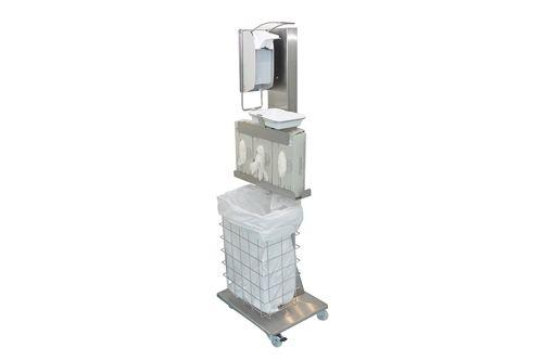 ingo-man classic MHP E Mobile Hygiene Stand