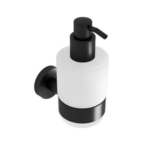 Zeepdispenser Voor Douche : Geesa  nemox black zeepdispenser ml citroenair