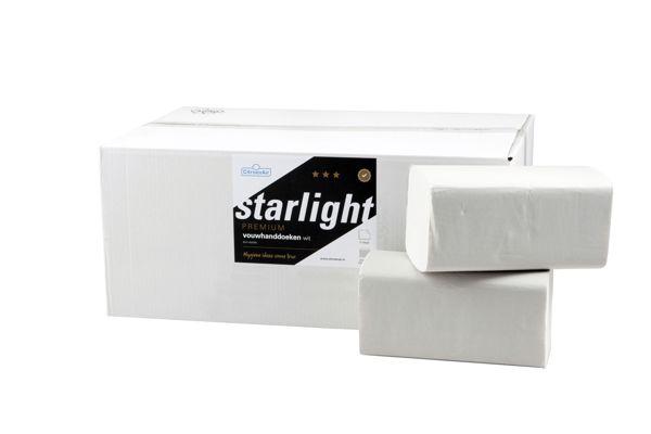 STARLIGHT,274061 ZZ handdoeken 3200 vel - 2 laags