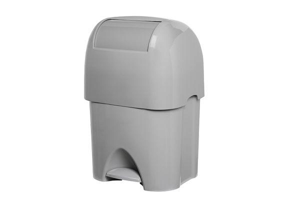 PLASTIQ luierafvalbak 50 liter, grijs