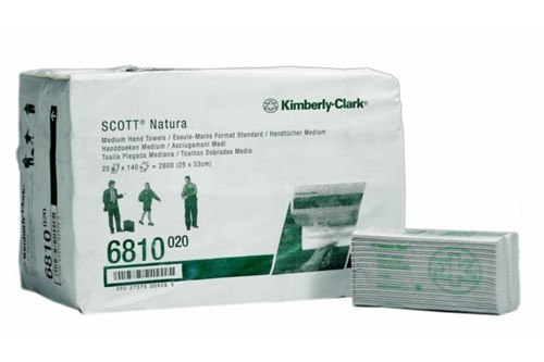 Kimberly-Clark SCOTT,6810 C fold Paper Towels 20x140 sheets