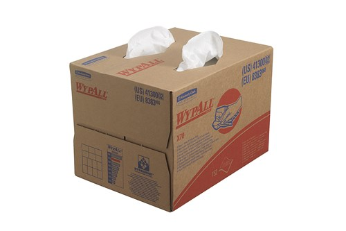 Kimberly-Clark 8383,WYPALL X70 Cloths - BRAG * Box / White