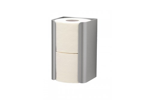 MediQo MQRRH2E Spare Toilet Roll Holder For 2 Rolls