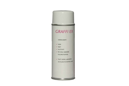 GRAFFI EX viltstift- graffitiverwijderaar, 400 ml.