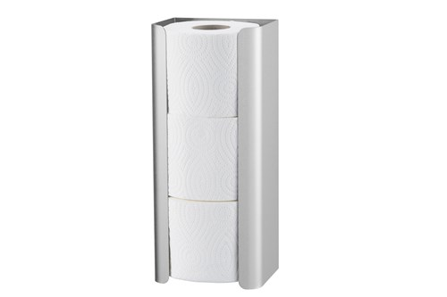 MediQo MQRRH3E Spare Toilet Roll Holder For 3 Rolls