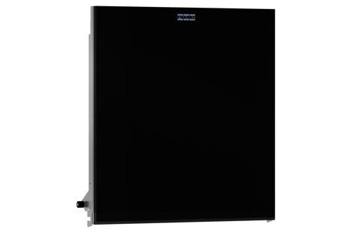Franke ZEXOS600EB,EXOS front zwart voor inbouw handdoekdisp.