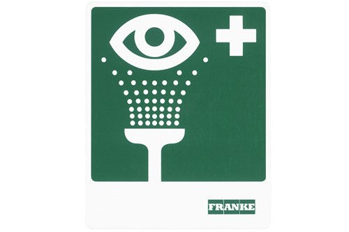 Franke FAID903 Eye washing facility safety symbol