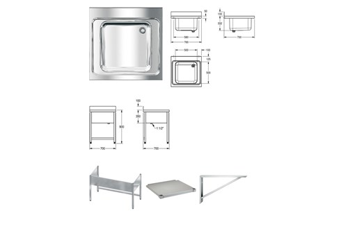 Franke MAXL100-70 MAXIMA Commercial sink