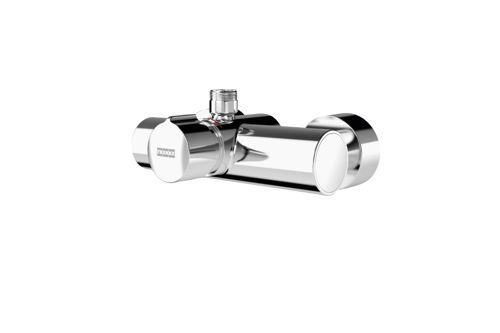 Franke F5SM2002,F5S-MIX Self-closing wall-mounted mixer