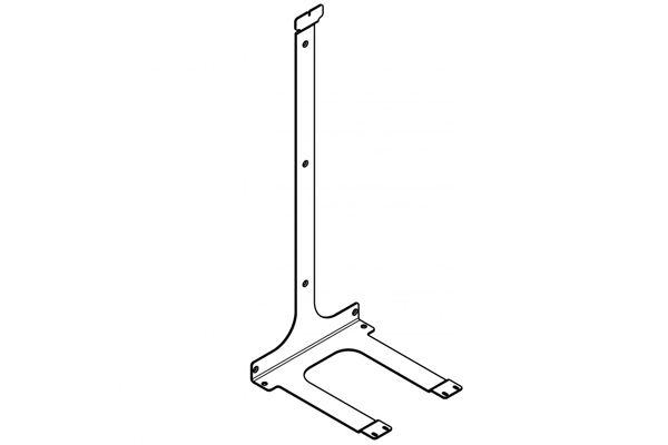 Franke X wandhouder voor afvalbak XINX608