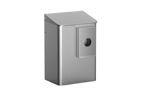 MediQo MQWB6HBKE Sanitary Bin 6 l With Sanitary Bag Disp