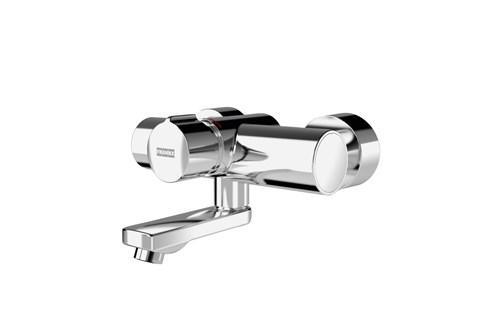Franke F5SM1004,F5S-MIX Self-closing wall-mounted mixer
