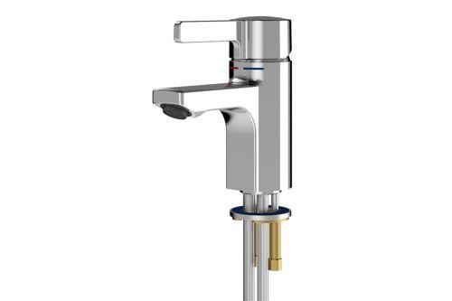 Franke F5LM1001,F5L-MIX Single-Lever Pillar Mixer