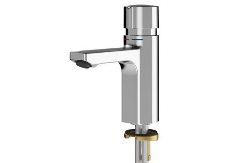Franke F5SM1006,F5S-MIX Self-closing pillar mixer