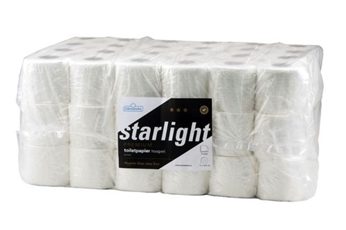 STARLIGHT,039241 Toilet Paper 64x250 sheets - 3 Ply