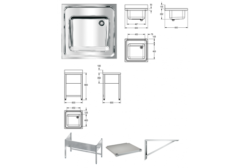Franke MAXS100-60 MAXIMA Commercial sink