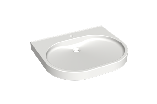 Franke ANMW501 Washbasin, barrier-free