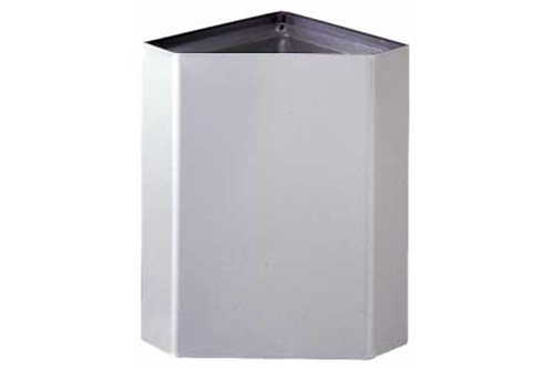 Bobrick B-268 Surface-Mounted Corner Waste Bin 50.7L