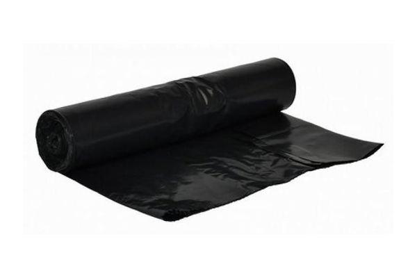 65 LITER,HDPE afvalzak 70x80cm zwart, 500 stuks