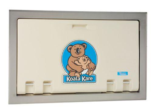 Koala Kare KB100-00ST-INB inbouw babytafel crème/RVS