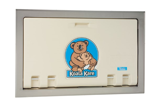 Koala Kare KB100-00ST-INB Recessed Baby Changing Station - Cream