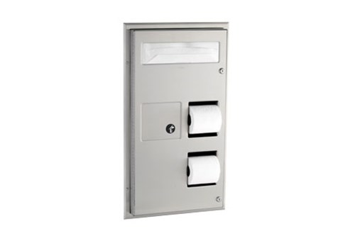 Bobrick B-357,CLASSIC Partition-Mounted combination
