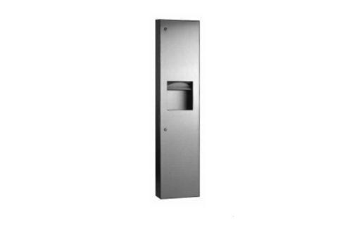 Bobrick B-380349,TRIMLINE combinatie Multifold papier/afval
