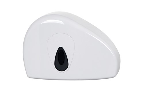 PlastiQline PQMINISRJ,GREY Mini Jumbo Toilet Roll Dispenser
