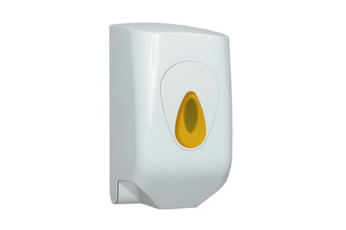 PlastiQ PQMINIC,YELLOW mini poetsroldispenser