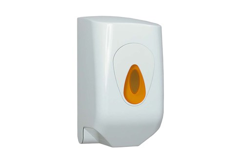 PlastiQ PQMINIC,ORANGE mini poetsroldispenser