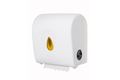 PlastiQ PQSACDK,YELLOW AutoCut Paper Towel Dispenser