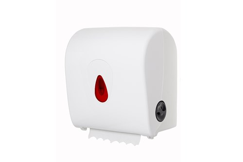 PlastiQ PQSACDK,RED AutoCut Paper Towel Dispenser