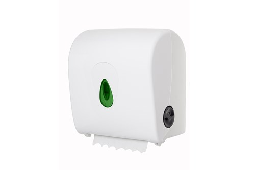 PlastiQ PQSACDK,GREEN AutoCut paper Towel Dispenser