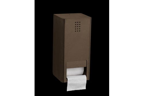 PROOX BR-300,ONE Bronze Double Toilet Roll Holder