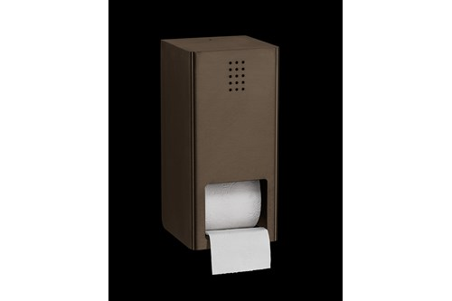 PROOX BR-305,ONE Bronze Double toilet roll holder