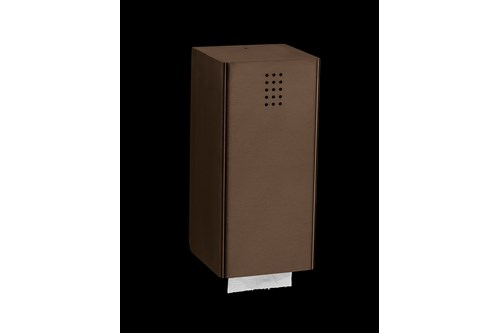 PROOX BR-310,ONE Bronze Single toiletpaper sheets disp.
