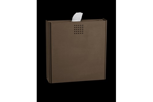 PROOX BR-400,ONE Bronze Sanitary napkin disposal bin
