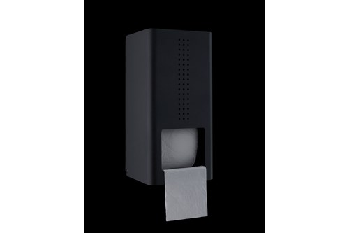 PROOX DP-300,ONE Dark passion Double toilet roll holder