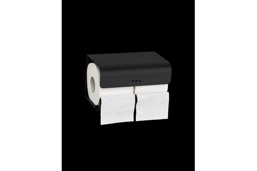 PROOX DP-382,ONE Dark passion Double toilet roll holder