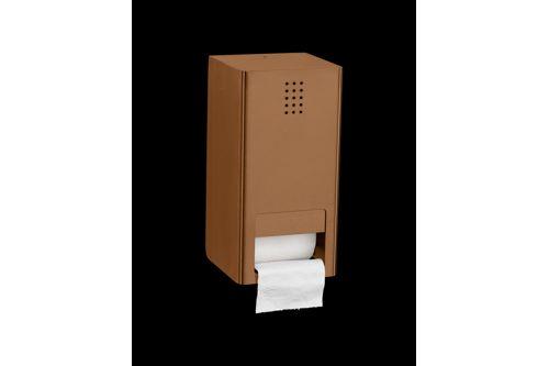 PROOX KU-300,ONE Kupfer Doppelter WC-Rollenhalter