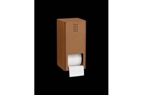 PROOX KU-305,ONE Kupfer Doppelter WC-Rollenhalter