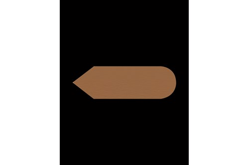 PROOX KU-817,FOUR Copper Pictogram arrow